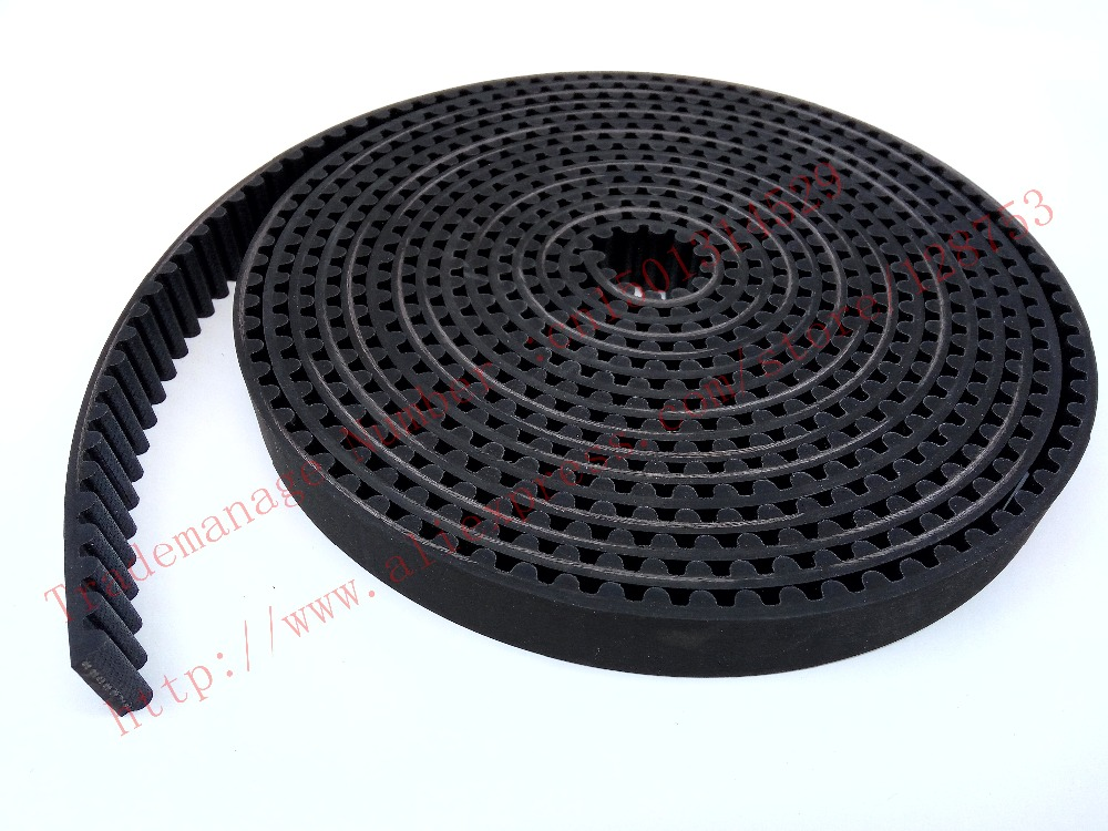 5 meters HTD8M Rubber Open ended timing belts width 20mm High torque HTD 8M High quality