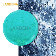 LANBENA 24K золото ручної роботи мила гіалуронова кислота очищення обличчя зволожуючий лікування вугрів відновлювати відбілювання Anti-Aning Winkles