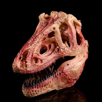 Teaching Research on Tyrannosaurus Rex Skull Resin Crafts Indoor Decoration Resin Skull