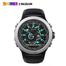 SKMEI Men Digital Smartwatch Bluetooth Sport Watches Heart Rate Monitor Fitness Sleep Tracker Waterproof Male Smart Wristwatch цена