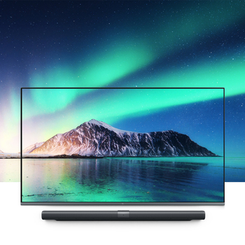 Original Xiaomi Mi Mural TV Pad 65 Inchs 2G+32G Smart TV Home Theater Real 4K HDR Ultra Thin Television Subwoofer DOLBY DTS TV 4