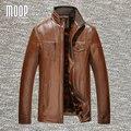 Черный коричневый PU кожаная куртка мужчины пальто зима на флисовой подкладке кожаная куртка мотоцикла moto chaqueta hombre весте cuir homme LT774