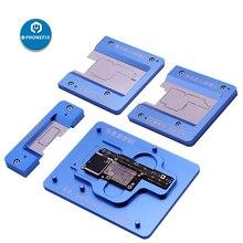 PHONEFIX MJ Z13 материнской держателя с bga-трафарет для iPhone X XS Макс пайки Инструменты для ремонта