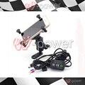 fite For YAMAHA MT-01 MT-03 MT-07 MT07 MT03 MT01 Motorcycle navigation frame Mobile phone holder with usb charger