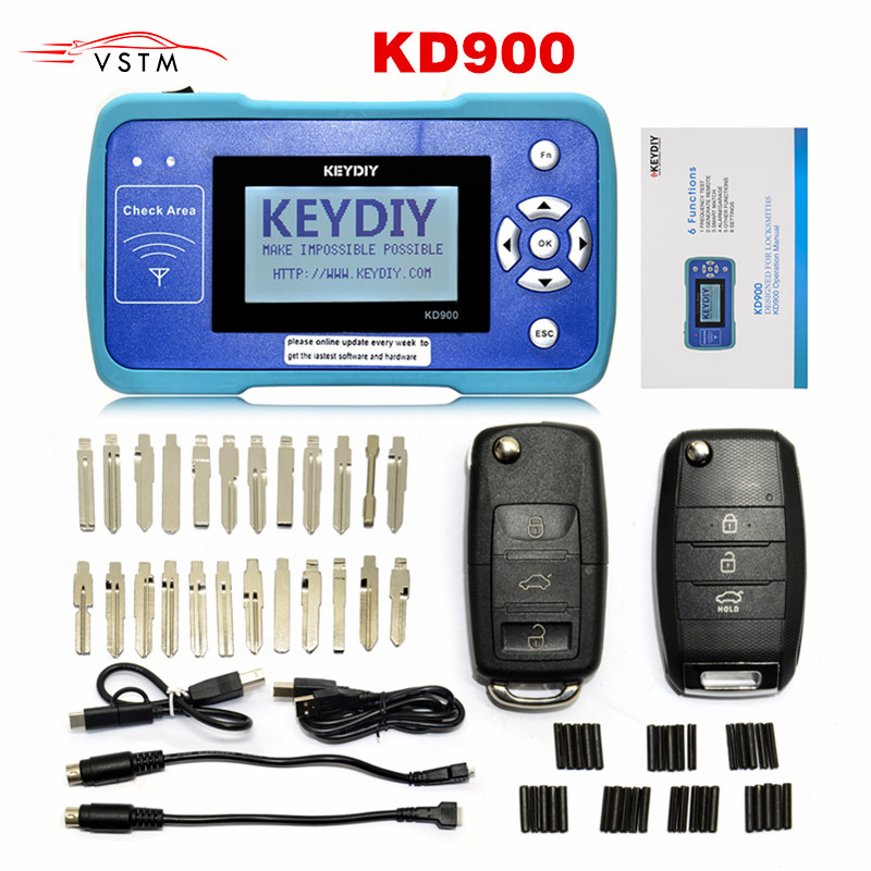 New  Remote Tool  KD900 Remote Maker the Best Tool for Remote Control World Update Online Auto Key Programmer-in Auto Key Programmers from Automobiles & Motorcycles