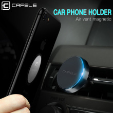 CAFELE Car Phone Holder Magnetic Air Vent Mount Mobile Smartphone Stand Magnet Support Cell in Car GPS For iPhone XS Max Samsung