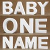 Diy Thick 12MM Wood Wooden Letters numbers White Alphabet Wedding Birthday Party Home Decorations Personalised Name Design 3