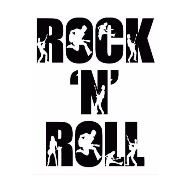 11cm 14cm Creative Fashion Rock N Roll Personalized Music Car Stickers C5 1681 In Car Stickers