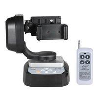 Mcoplus YT500リモートコントロールパンチルト自動電動回転ビデオ三脚ヘッド+電話ホル