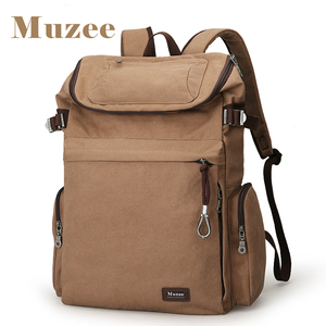 Image 2 - Muzee Brand Vintage backpack Large Capacity men Male Luggage bag canvas travel bags Top quality travel duffle bag