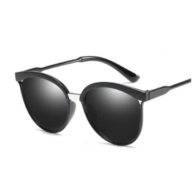 NOVO Olho de Gato Óculos De Sol Das Mulheres Dos Homens De Alta Qualidade  óculos de d7cef84641
