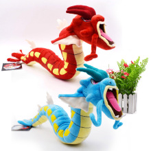 2 Styles Gyarados Red And Blue Gyarado Dragon Animal  Stuffed Peluche Plush Toys Figure Dolls 60 cm Great Gift For Children