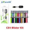 Cigarro eletrônico ego ce4 kit blister ego CE4 atomizador cigarro ego-T vape dildo e cig cigarro e bateria vaporizador (MM)