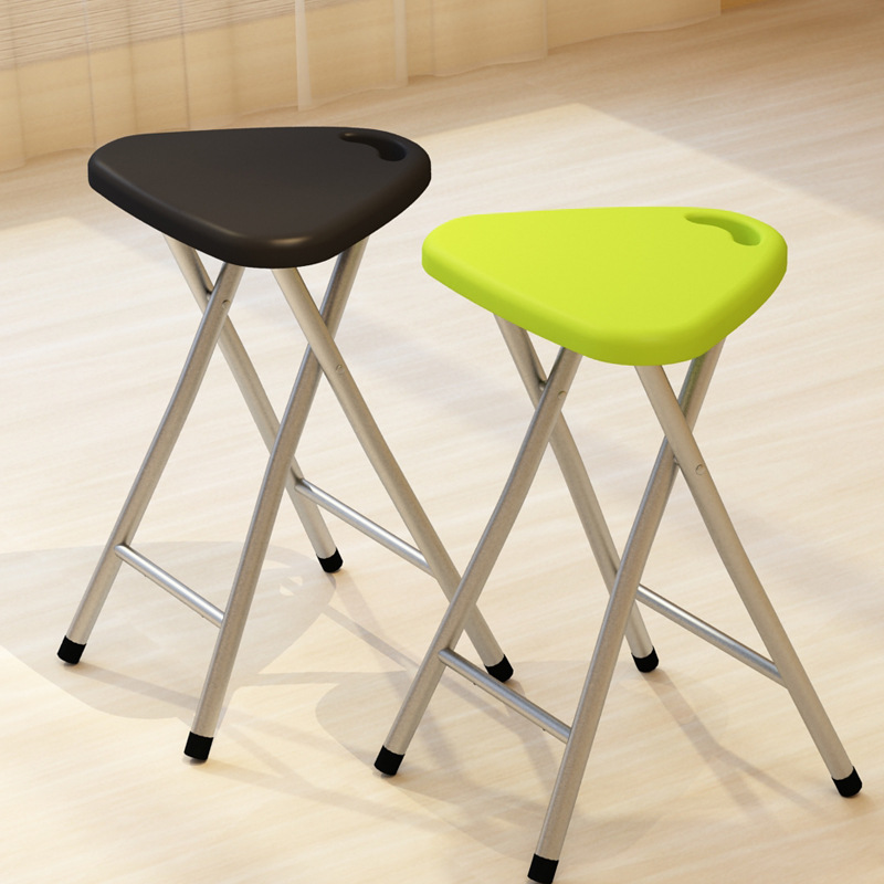 Folding Small Stool  Horse Chair  Simple Household Bench  Dining Outdoor Portable Plastic Fishing|Fishing Chairs| |  - title=