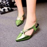 Tenis Feminino Nova Chegada Grande Plus Size Sapatos Sandálias Das Mulheres 2017 Saltos Baixos Sapato Feminino Verão Estilo Chaussure Femme 5290-2