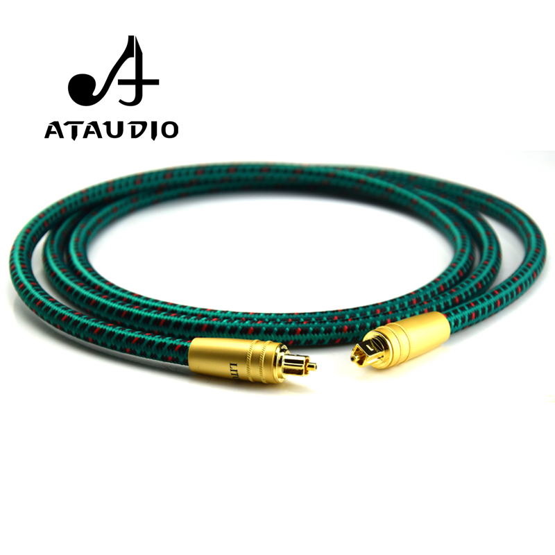 ATAUDIO Hifi Optical Fiber Cables Professional 5.1 for DAC / Digital Interface 1m 1.5m 2m 3m 5mATAUDIO Hifi Optical Fiber Cables Professional 5.1 for DAC / Digital Interface 1m 1.5m 2m 3m 5m