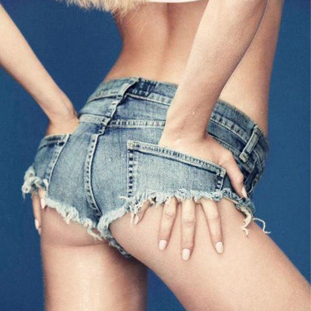 2017 Pantalones Cortos de Mezclilla Verano de Las Mujeres Delgada Sexy Mini Shorts Calientes Clubwear Hip-Hop Fitness Jean Corta Más la corto femenino