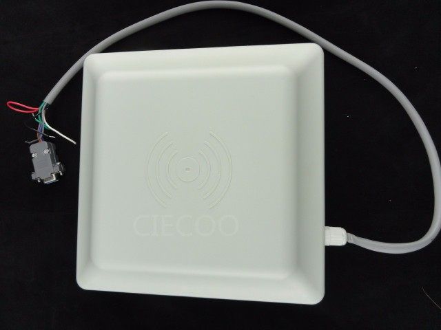 UHF RFID card reader 5m long range, 8dbi Antenna RS232/RS485/Wiegand Read 5M Integrative UHF Reader free SDK rs485id card reader rs485 read head 485 entrance guard card reader waterproof head support for secondary development
