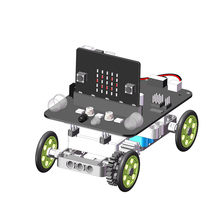 YahBoom Micro:bit DIY 9 In 1 Programmable Block Building Tracking Obstacle Avoidance Smart RC Robot Kit(China)
