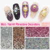 2016 New 1440Pc Nails DIY Rhinestones Micro Diamond Crystal 3D Nail Art Decoration Tiny Mini Pixie