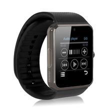 Купить GT08 Bluetooth Мода SmartWatch Android собран в Камера двухкарточный смартфон Поддержка TF карты SMS GSM ответ на вызов воспроизведения музыки PK DZ09