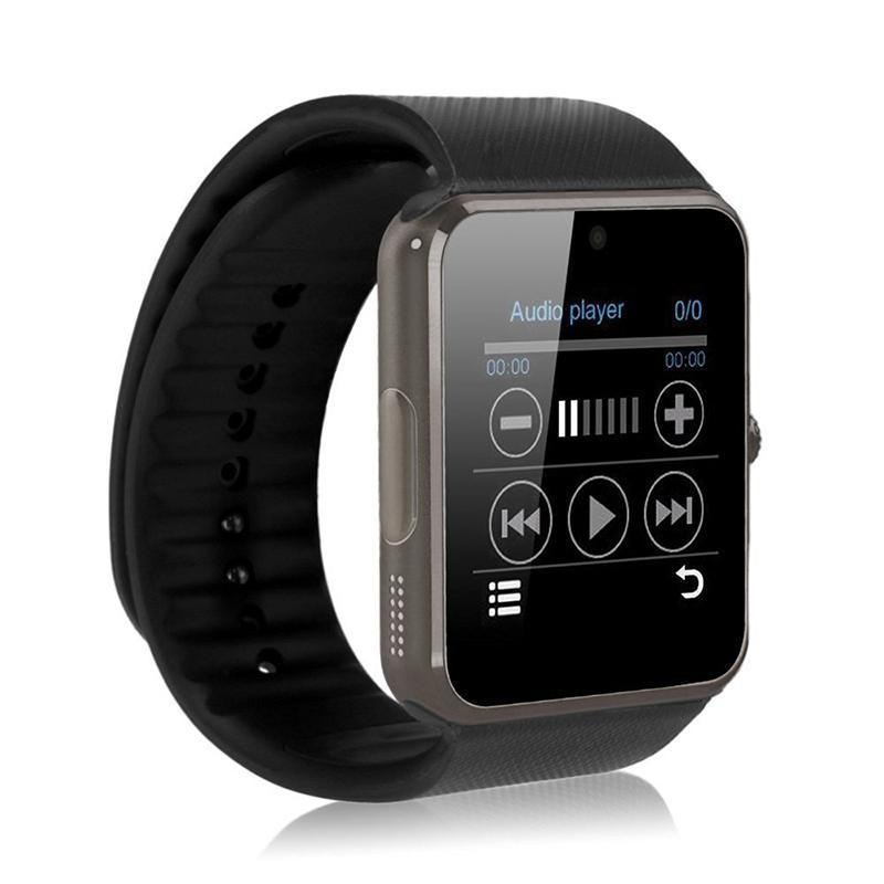 Bluetooth Fashion intelligent SmartWatch Android built in Camera Speaker Sim phone Support TF card SMS Answer Call Music play