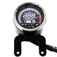 Motor Gauge LCD Digital Styling Speedometer vehicle Tachometer Water Temp Gauge Motorcycle Fuel Meter Multifunctional Compteur