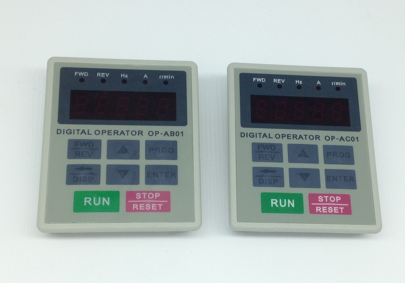 New original HLP-A frequency converter operation panel OP-AB01 and OP-AC01 dhl ems 1pc uling d200m series frequency display panel 08 op 130a a2