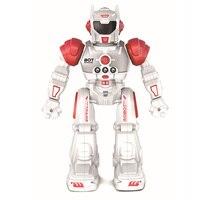 Kids Children Intelligent Flexible Multifunctional Early Education Gesture Sensor Slide Toys Birthday Gift RC Robot Programmable