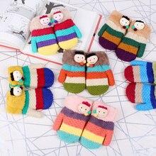 Kids Children Gloves Winter Character For Boys Girls Cartoon Warm cute 2016 New High Quality Mittens C1679