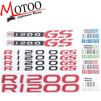 Motoo - For BMW R1200GS R1200 GS motorcycle Fuel tank Wheels Fairing notebook Luggage helmet  Sticker decals Мотоцикл