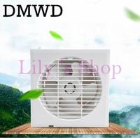 6 Inch Mini Wall Window Exhaust Fan Kitchen Toilets Ventilation Fans Slim Type Windows Exhaust Fan