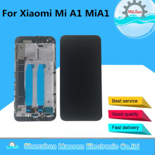 Original M&Sen 5.5 For Xiaomi Mi A1 MiA1 LCD Screen Display+Touch Screen Digitizer Frame For Xiaomi 5X Mi 5X Mi5X LCD Display for xiaomi mi a1 lcd display mia1 mi5x mi 5x touch screen digitizer with frame replacement parts for xiaomi mi a1 lcd 5x display