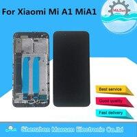 Original M&Sen For 5.5 Xiaomi Mi A1 MiA1 LCD Screen Display+Touch Screen Digitizer Frame For Xiaomi 5X Mi 5X Mi5X LCD Display