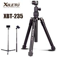 XILETU XBT 235 3in1 Extensão Selfie Vara e Mini Tripé Com Suporte de Telefone para Smartphone  DSLR e Câmera Mirrorless|Tripés| |  -