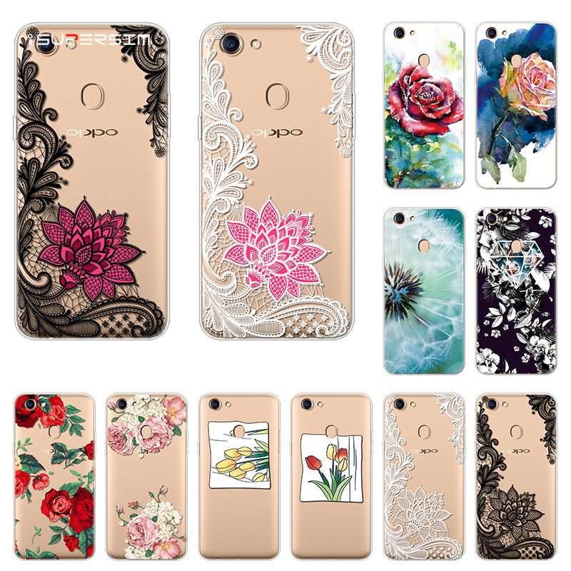 412fd08c6f Flowers For OPPO F5 Case luxury Silicone Clear Back Phone Cases Beautiful For  OPPO F5 Case Cover Soft TPU for OPPO F5 A73 A73T – Twizamart.ca