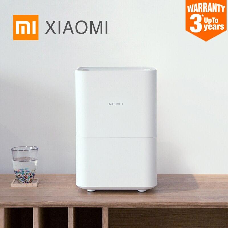 Оригинальный Xiaomi Smartmi увлажнитель воздуха 2 Арома диффузор эфирное масло Mijia приложение управление 4L ёмкость кондиционер приспособления
