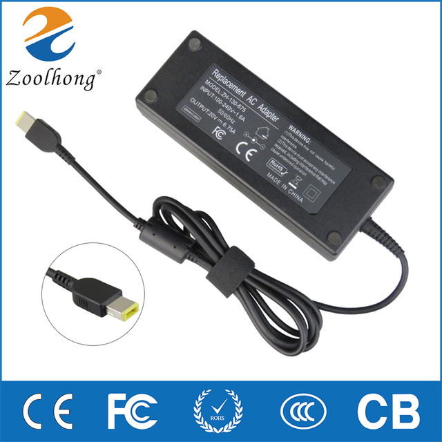 135W 20V 6.75A Laptop AC Adapter Charger for Lenovo IdeaPad Y50 ADL135NDC3A 36200605 45N0361 45N0501 Y50 70 40 t540p