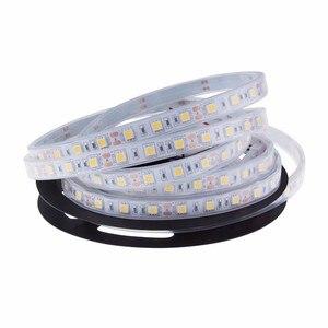 Image 1 - 1 m/2 m/3 m/4 m/5 m IP67/IP68 Waterdichte LED Strip 5050 DC12V 60 LED/M Hoge Kwaliteit Silicon Buis Outdoors/Onder Water LED Strip