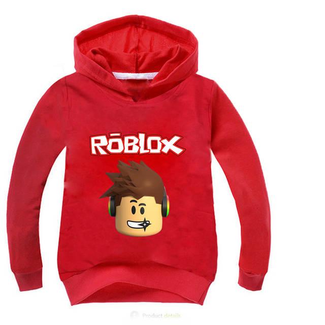 US $7 49 25% OFF|ROBLOX Hoodies Kids Sweatshirts Fashion Kids Sweatshirts  Clothes Baby Toddler Girls Coat Kids Clothes Boys Shirt Sportswear 10Y-in