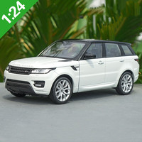High quality 1:24 New Range Rover off road alloy car model,high simulation diecast metal advanced collection model,free shipping