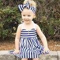 Девушки Одеваются 2016 Новый Бренд Платье Принцессы Детская Одежда Лимон Печати Дизайн для Девочек Платье Детская Одежда