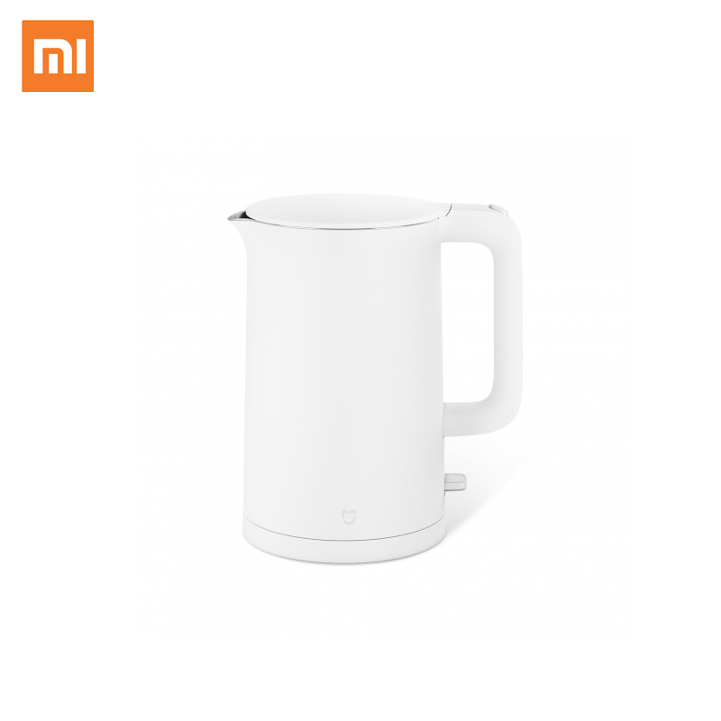 New Deals Xiaomi Mijia Electric Kettle 1.5L Household 304 Stainless Steel Insulated Water Kettle Fast Boiling APO Not Smart Mode