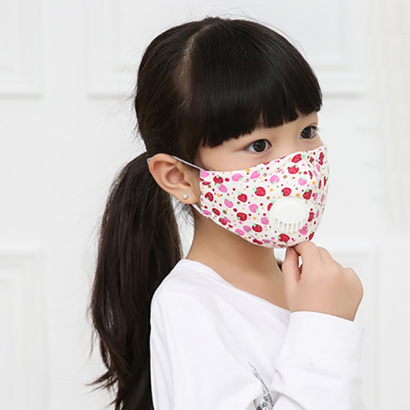 Kids Cartoon Cotton Breathable N95 Mask Baby Breath Mask Anti-dust PM2.5 Mask