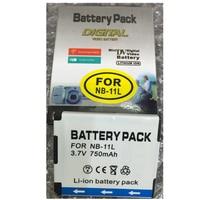 NB-11L NB11L pin lithium NB11L máy ảnh kỹ thuật số pin NB 11L Cho Canon A2600 A3500 A4000IS IXUS 125 140 240 245 265 155 HS