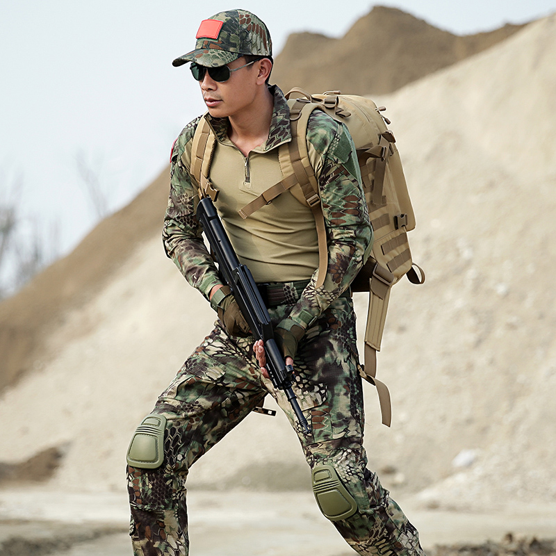 Men s Hunter Clothes Jackets pants Outdoor Hunting Outfit Camouflage Costume Multicam For Hunting Us Army