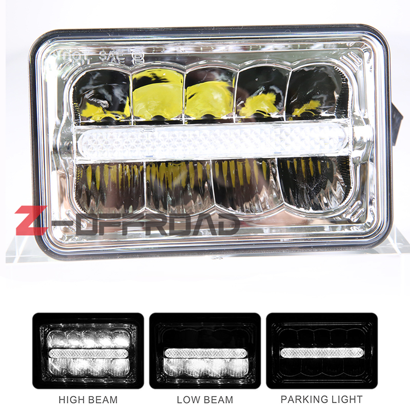 4x6 Inch Square Led Truck Headlight Bulb Replacement Led