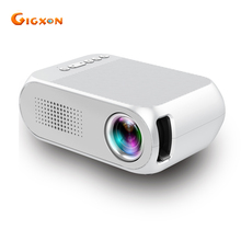 Gigxon-G320 Super Mini LED Proyector 400 lúmenes soporte full HD 1080 P Proyector Home Cinema Teatro de Vídeo de Bolsillo proyector