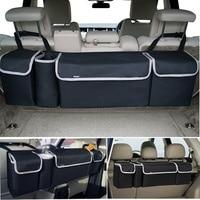 Car Storage Trunk Organizer Box Bag Car Seat Organizer Backseat Oxford Car Seat Back Organizer Interior Accessories