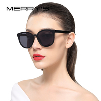 MERRY S Women Classic Brand Designer Sunglasses Vintage Cat Eye Sunglasses S 8094